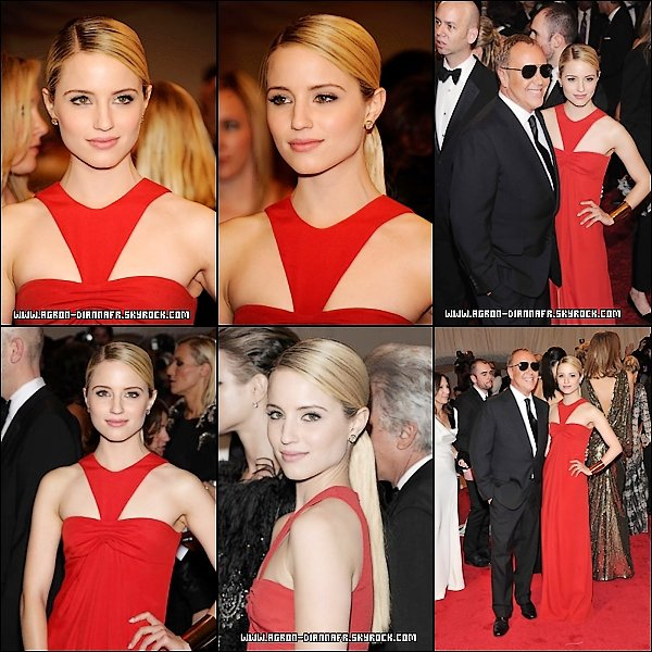"Le 2 Mai : Dianna à ""Alexander McQueen: Savage Beauty"" Costume Institute Gala"