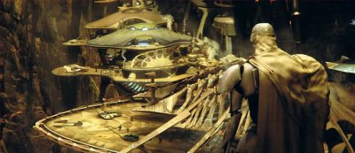 Atterrissage de Obi-Wan sur Utapau