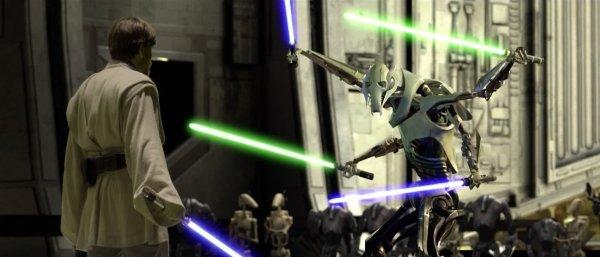Obi-Wan vs Grievous