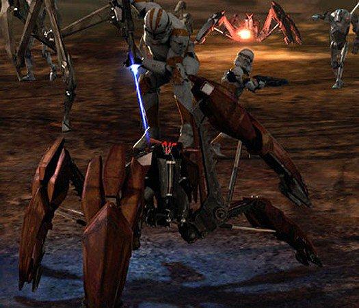 Clone 212e vs crabe droid