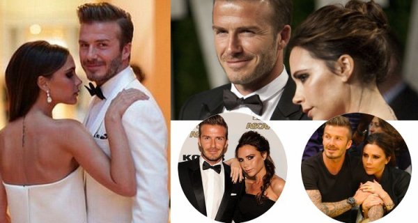 Couple Réel Victoria & David Beckham