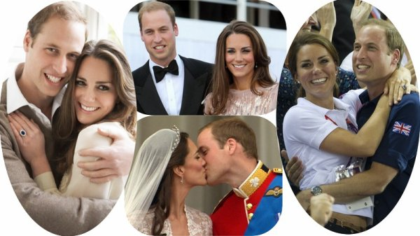 Couple Réel Kate Middleton & le Prince William