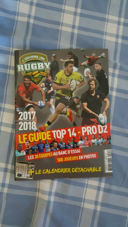 SAISON RUGBY 2017 / 2018