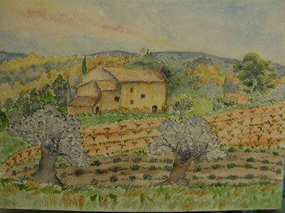 Paysage de Provence encore...