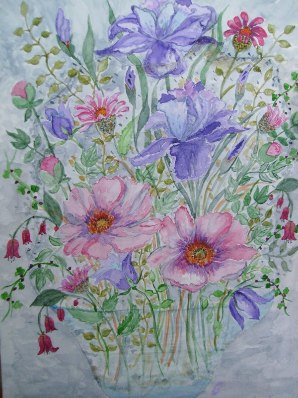 Fleurs pêle-mêle