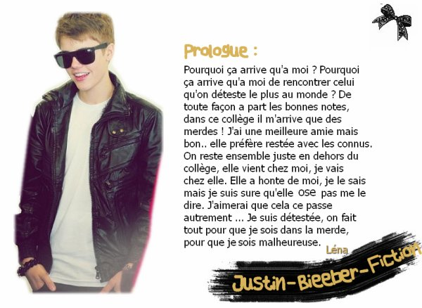 Justin-Bieeber-Fiction | Prologue.