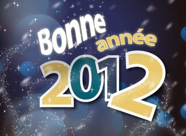 Tous mes voeux pour 2012!