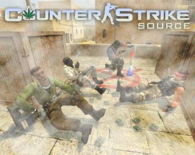 Counter Strike Source.