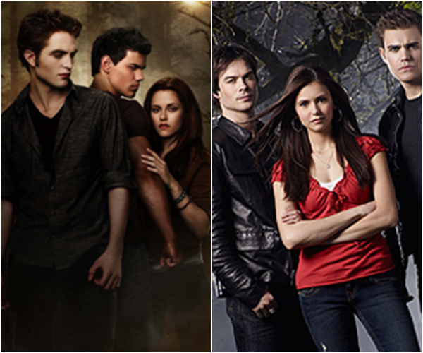 .#3 SONDAGE   • Twilight VS Vampires Diaries !    .
