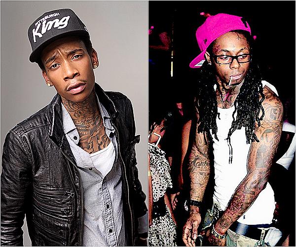 .#5 SONDAGE   • Wiz Khalifa VS Lil Wayne !    .