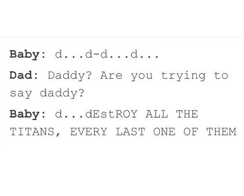 Eren as a baby!