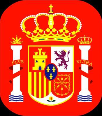 Le drapeau de l espagne espagne57 - Logo club foot espagnol ...