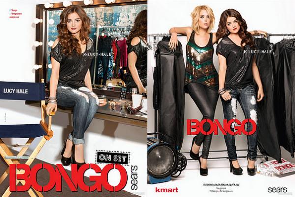 Affiches publicitaire de la marque Bongo pour cet Automne.