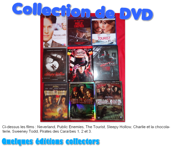 Collection de DVD