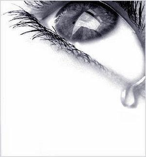 Mes larmes...