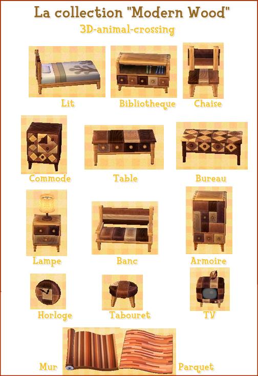 les collections in dites blog de 3d animal crossing. Black Bedroom Furniture Sets. Home Design Ideas