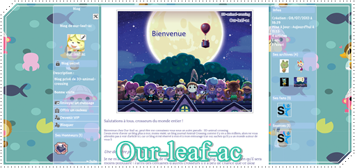 Annonce: Blog de Our-leaf-ac !