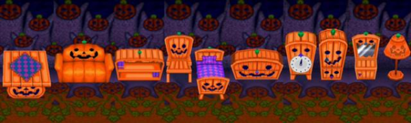 Halloween Part. 1 : Costumes, bonbons et furnitures