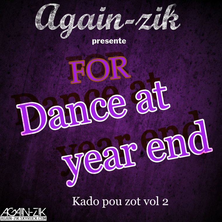 For dance at year end