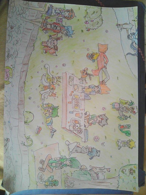 dessin pokebeyblade pour le concours de k-chan