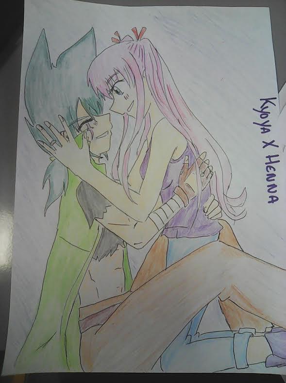 Kyoya et Henna rp beyblade avec K-chan