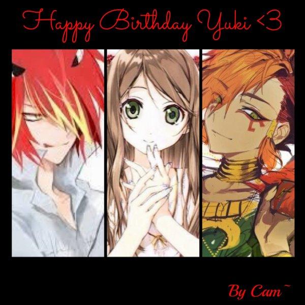Happy Birthday Yuki !!<3~