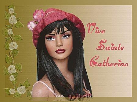 Bonne fete a toutes les Ste Catherine ...