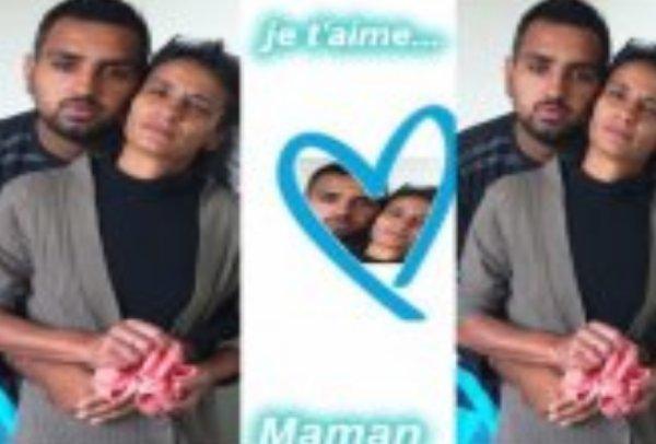 ma femme et mon fils Yoan