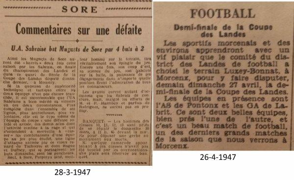 Coupe des Landes 1946-47