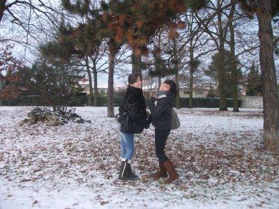 Snow, snow, it's so funny ! ;D ~ Merci ma cherie d'etre la avec moi, je t'aime.