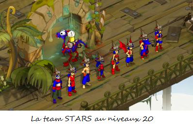 début de la team