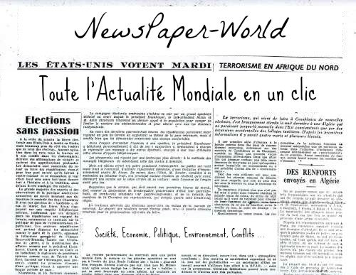 Bienvenue sur NewsPaper-World !