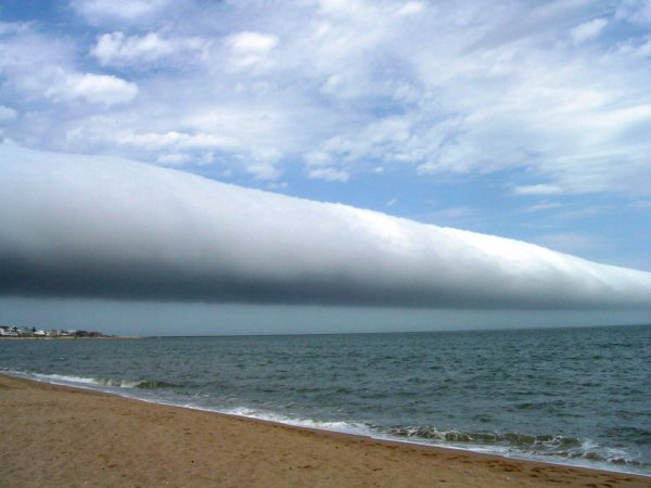 Nuage au-dessus Uruguay