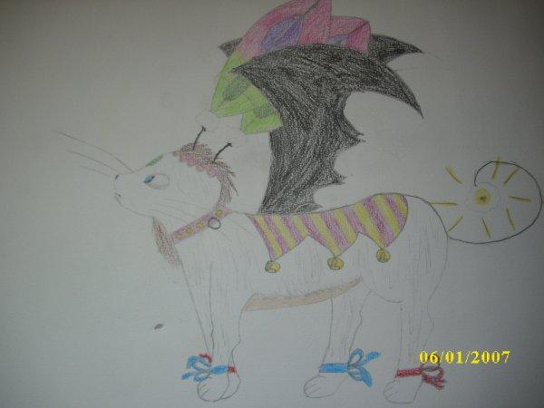 "Personnage n°1 : Gaya et son ""animal"" de compagnie !!"
