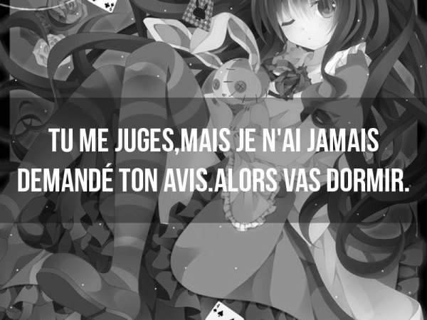 Jugement.