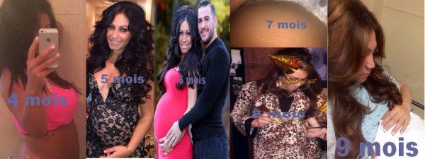 Tracy Dimarco enceinte de son premier enfant