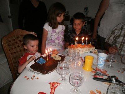 Vincent à Nice ( l'anniversaire )