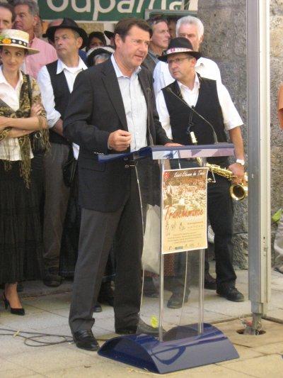 La fête de la transumance 2011 à Saint Etienne de Tinée.