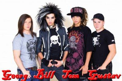 Ma Première passion la Music en particulier celle de Tokio Hotel