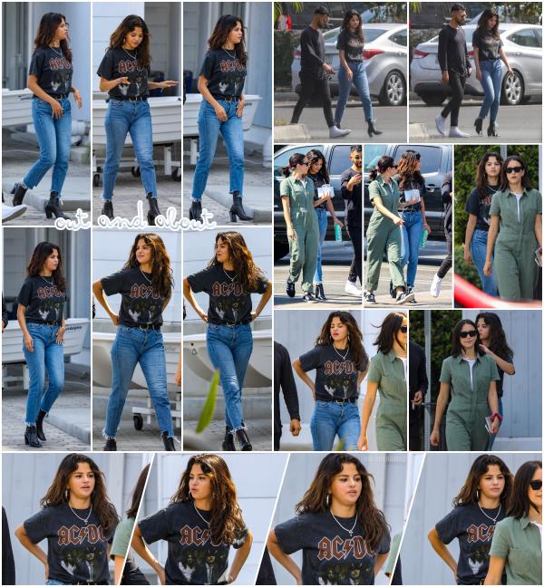 29/07/18 : Selena G. a été vue avec des amis se promenant dans Santa Monica, en Californie. Miss Gomez était accompagnée de son amie Courtney Barry et du copain de celle-ci appelé Sam Lopez. Un top pour la tenue!