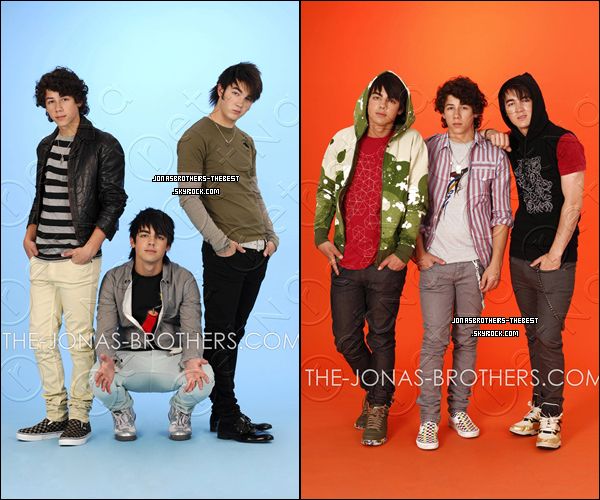 Photos 2007 Je vous présente des photos des Jonas Brothers, photographiée par « John Ricard »