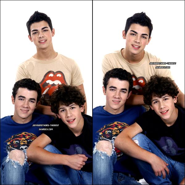 Photos 2006 Je vous présente des photos des frères Jonas, photographiée par  « Carmen Portelli for PR »