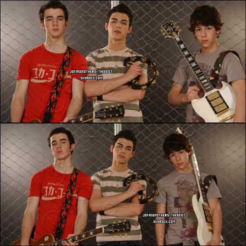 Photos 2006 Je vous présente des photos des Jonas Brothers, photographiée par « Carmen portelli for PR »