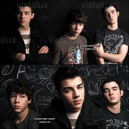 Photos 2006 Je vous présente des photos des Jonas Brothers, photographiée  par « Brian Appio for MTV »