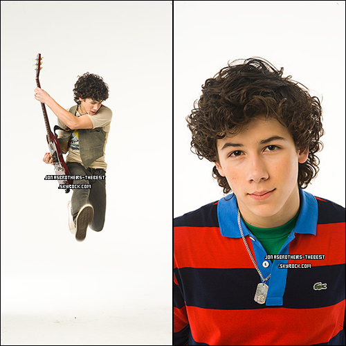 12/12/2006 Je vous présente des photos de Nick Jonas, photographiée par « Johnny Buzzerio for Hollywood Records »