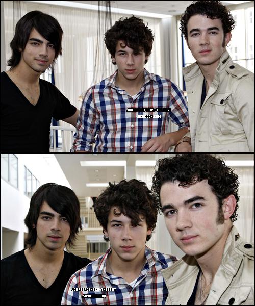 Photos 2008 Je vous présente des photoshoots des Jonas Brothers, photographiée par « Fame Pictures for PR »