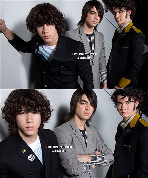 18/01/2008 Je vous présente des photoshoots des Jonas Brothers, photographiée  par « Matt Sayles for Purposes PR »