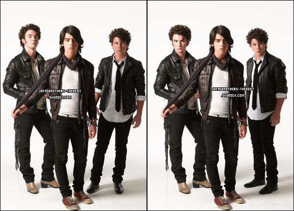 11/07/2008 Je vous présente des photoshoots des Jonas Brothers, photographiée  par « Max Vadukul for Rollingstone Magazine »