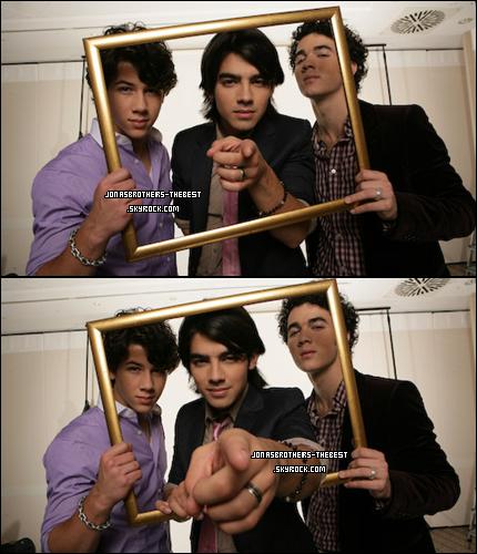 06/03/2008 Je vous présente des photoshoots des Jonas Brothers, photographiée  par « Frank-Lothar Lange for Twist »