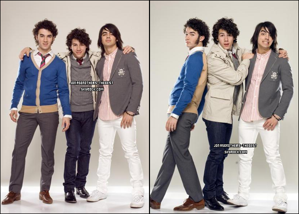Photos 2008 Je vous présente deux photoshoots des Jonas Brothers , photographiée par « Matthias Nordiek for PR »
